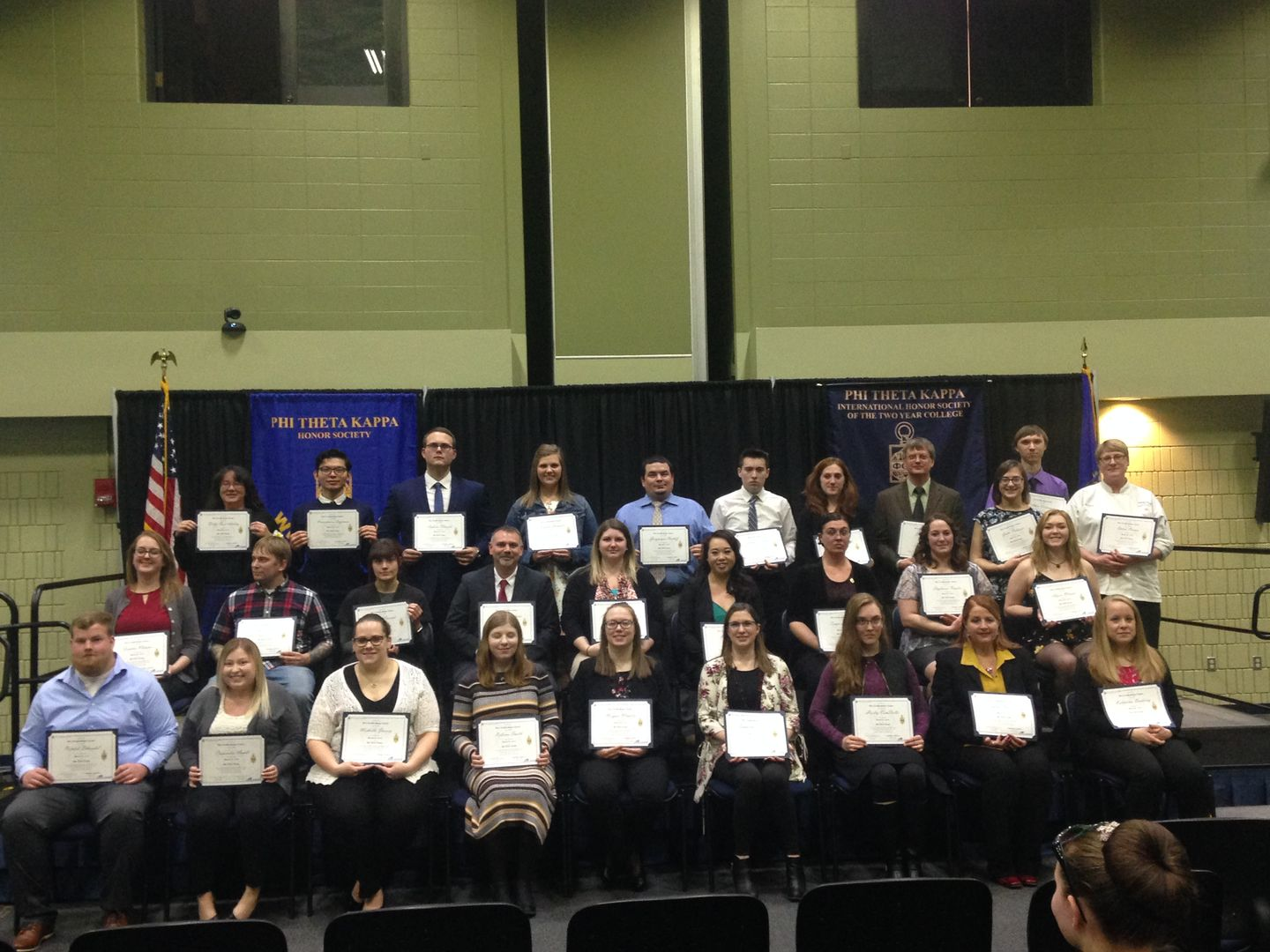 PTK Spring 2019 Induction