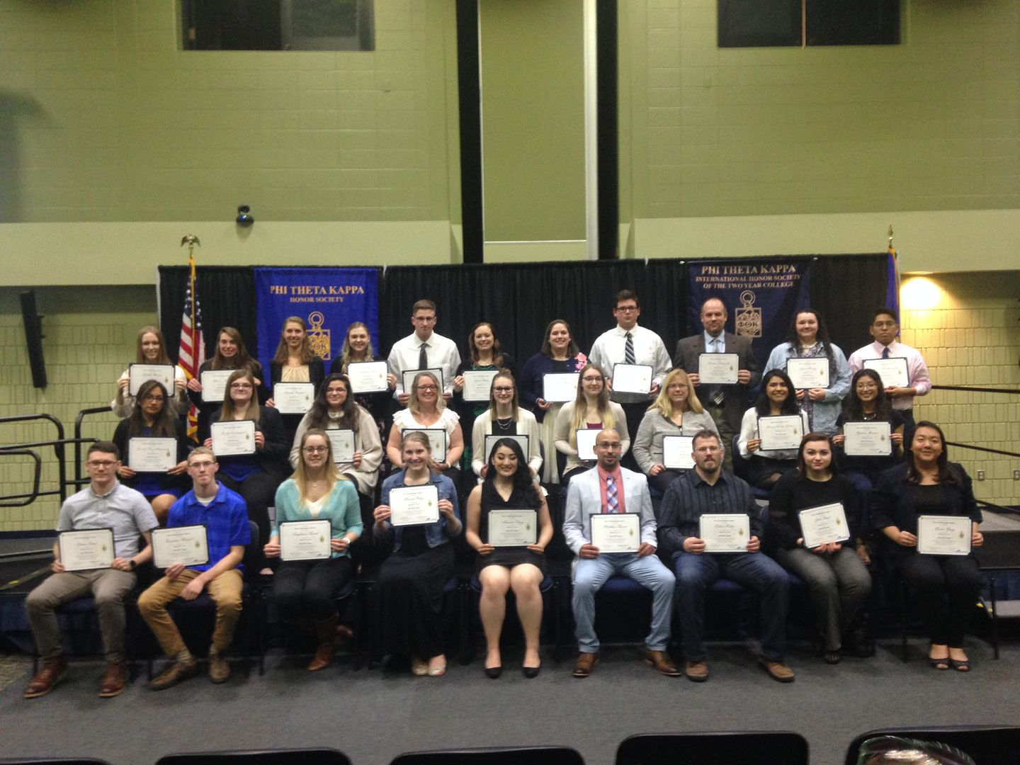 PTK 2019 Spring induction