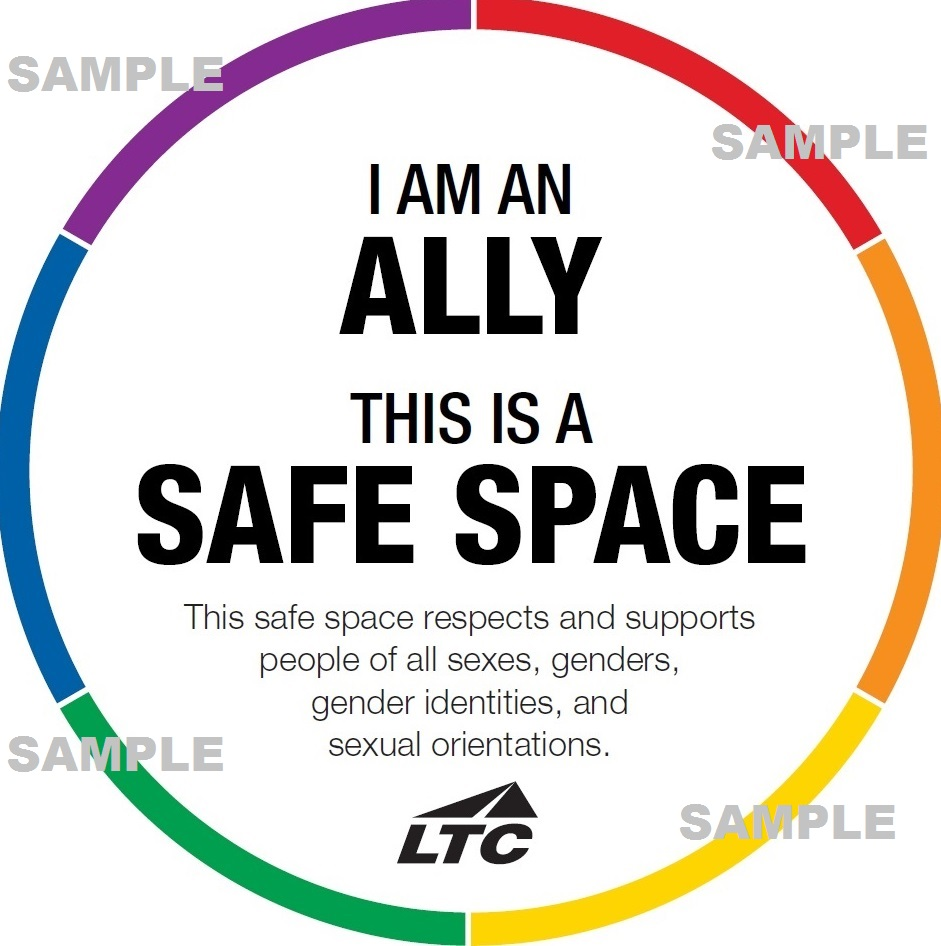 Safe Space Ally (sample image)